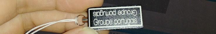 mini clé usb gravée